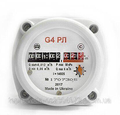 Газовий лічильник Ямпіль G4 РЛ