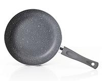 Сковорода глубокая Vinzer Stone Induction Line 89417 (24 см) антипригарное покрытие   сковородка Винзер, фото 1