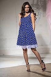Платье  горох  в расцветках  72795
