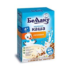 Каша молочна Беллакт Гречана, 6+, 200г
