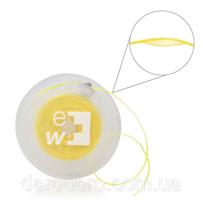 Вощеный флосс Edel White ew-PС70, 70 м