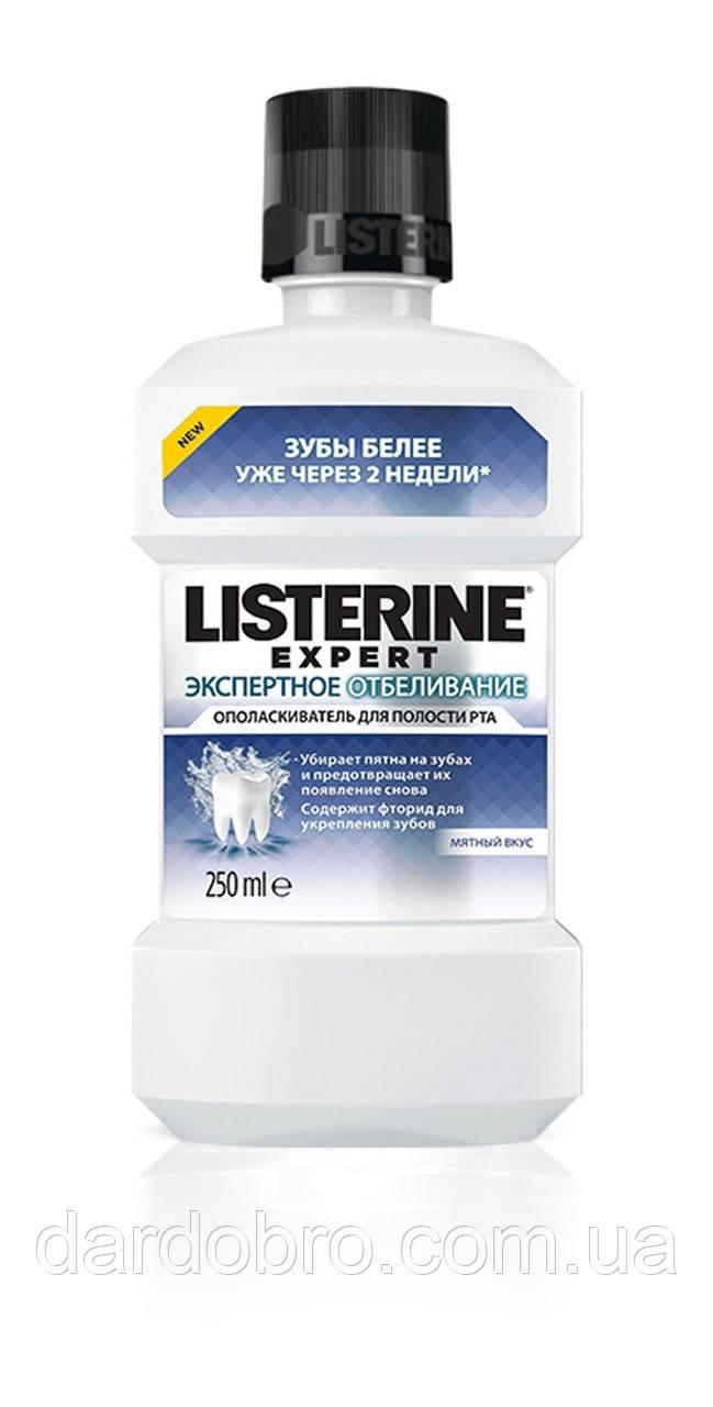 """Ополаскиватель полости рта Listerine Expert """"Экспертное отбеливание"""", 250 мл"""