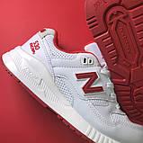 Женские кроссовки New Balance 530 Encap White Red, женские кроссовки нью беленс 530 енкап, фото 5