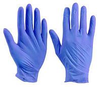 Перчатки медицинские нитриловые нестерильные Polix PRO&MED (100шт./уп.), цвет: Ice Blue