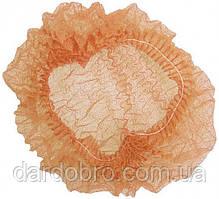 Шапочка из полиэтилена на одной резинке Polix PRO&MED, 100 шт./уп.