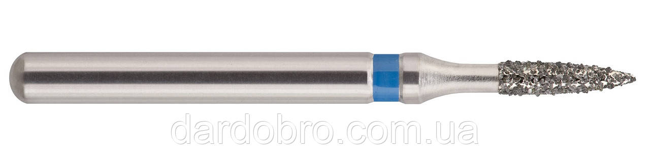 Бор стоматологический алмазный (пламя подобный) 247-012M (860)