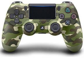 Ігровий джойстик Sony Playstation 4 DualShock V2 Green Cammo