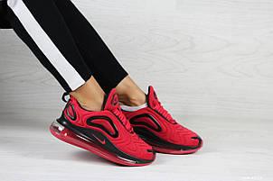 Модні жіночі кросівки Nike Air Max 720,червоні, фото 2
