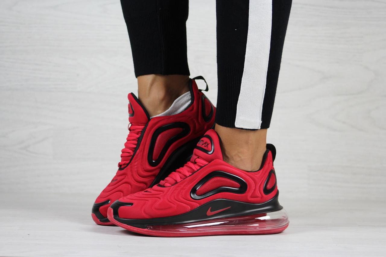 Модні жіночі кросівки Nike Air Max 720,червоні