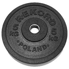 Бамперный диск REKORD 5 kg
