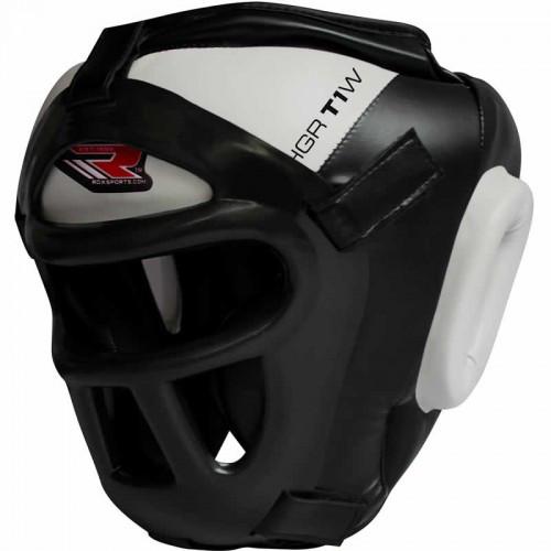 Боксерский шлем тренировочный RDX Guard White L