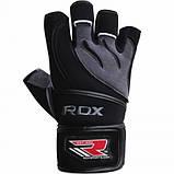Перчатки для фитнеса RDX Pro Lift Black S, фото 5
