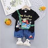 Костюм летний для мальчика The Cookie 3 цвета Размер: 80-110 см, фото 2
