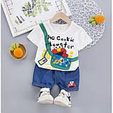 Костюм летний для мальчика The Cookie 3 цвета Размер: 80-110 см, фото 3