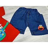 Костюм летний для мальчика The Cookie 3 цвета Размер: 80-110 см, фото 4