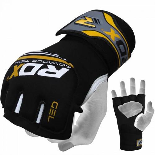Бинт-перчатка RDX Neopren Gel Yellow S/M