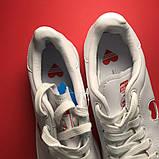 Женские кроссовки Adidas Stan Smith White Red Heart, женские кроссовки адидас стэн смит, фото 6