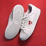 Женские кроссовки Adidas Stan Smith White Red Heart, женские кроссовки адидас стэн смит, фото 5