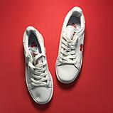 Женские кроссовки Adidas Stan Smith White Red Heart, женские кроссовки адидас стэн смит, фото 4