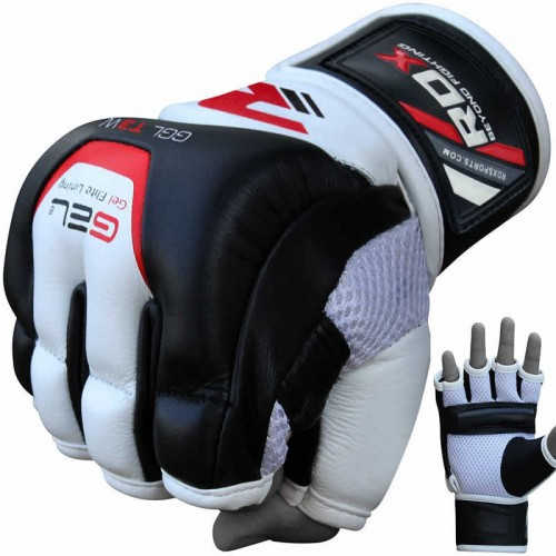 Снарядні рукавички, битки RDX Leather S