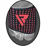 Защита голеностопа правая (1шт.) RDX Neopren Anclet Right L/XL неопреновый черный, фото 2
