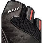 Перчатки для фитнеса мужские кожаные RDX S2 Leather Black XL черный, фото 2