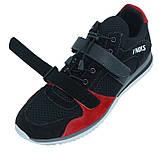 Кросівки спортивні чоловічі V'Noks Boxing Edition 41 розмір чорний з червоним, фото 3
