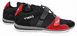 Кросівки спортивні чоловічі V'Noks Boxing Edition 41 розмір чорний з червоним, фото 6