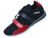 Кросівки спортивні чоловічі V'Noks Boxing Edition 41 розмір чорний з червоним, фото 8