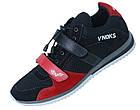 Кроссовки спортивные мужские V`Noks Boxing Edition 44 размер черный с красным, фото 8