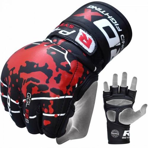 Перчатки ММА RDX Blood XL