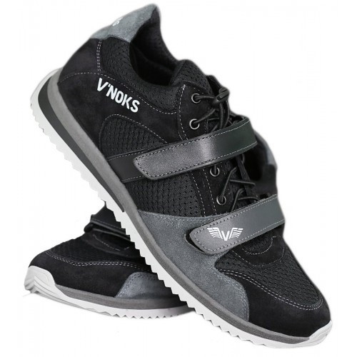 Кроссовки мужские спортивные V`Noks Boxing Edition Grey 46 размер черный с серым