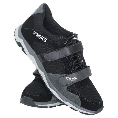Кроссовки мужские спортивные V`Noks Boxing Edition Grey New 44 размер черный с серым