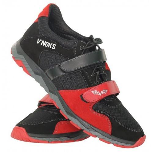 Кроссовки мужские спортивные V`Noks Boxing Edition Red New 41 размер черный с красным