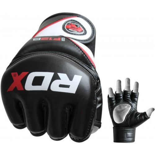 Перчатки ММА RDX Rex Leather Black L