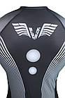 Рашгард мужской с длинным рукавом VNK Scath Grey M серый, фото 6