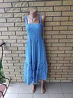 Сарафан-юбка шифоновый длинный, в пол, есть большие размеры CARROCAR