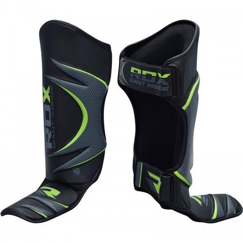 Накладки на ноги, защита голени RDX Green L/XL
