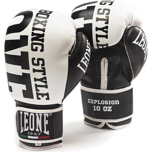 Боксерские перчатки Leone Explosion White 10 ун.