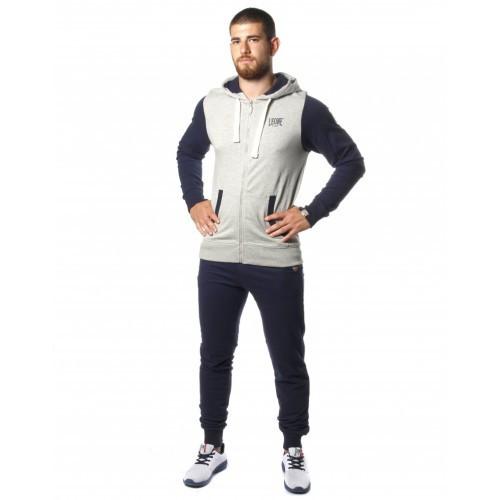 Спортивный костюм Leone Fleece Grey/Blue 2XL