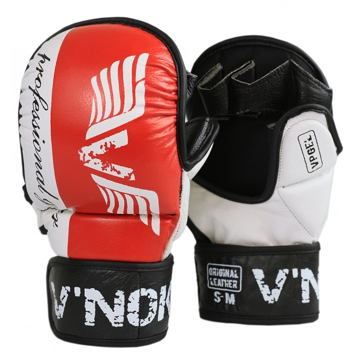 Рукавички для MMA V'Noks Lotta Red S/M червоне