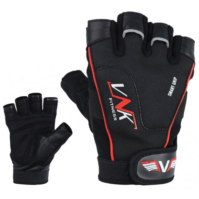 Перчатки для фитнеса мужские VNK Pro S черный
