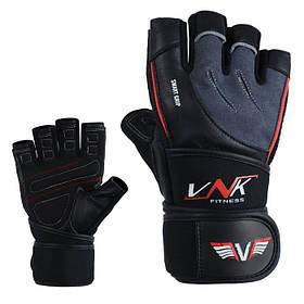 Перчатки для фитнеса мужские VNK SGRIP Grey S серый