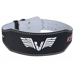 Пояс для тяжелой атлетики VNK Leather 10 см S кожа черный