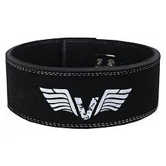 Пояс для тяжелой атлетики VNK Leather Pro кожа S черный