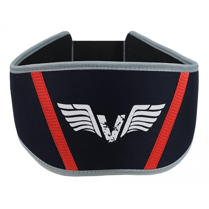 Пояс для тяжелой атлетики неопреновый VNK Neoprene S черный