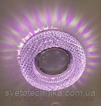 7790с розовой подсветкойRGB  Точечный светильник