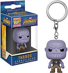 Фигурка брелок Funko Pop Мстители Война бесконечности Танос Avengers Infinity War Thanos 4 см AI T 010