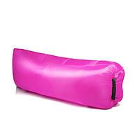 Ламзак, надувной лежак, надувной диван lamzac - розовый