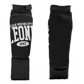Захист гомілки Leone Comfort XS чорний